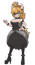 bowsette_1 by MuHut