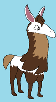 Animal Jam Llama OTA by AnimalLover670