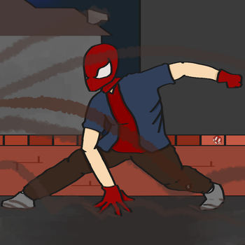 Bank Robbery - Spider-Man by SketchingGames