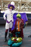 Mephisto and Amaimon by v-o-n