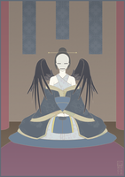 The Crow Empress by RoseCG
