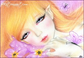 Spring Fairy by Katerina-Art