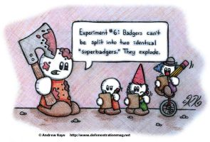 Superbadgers by AK-Is-Harmless