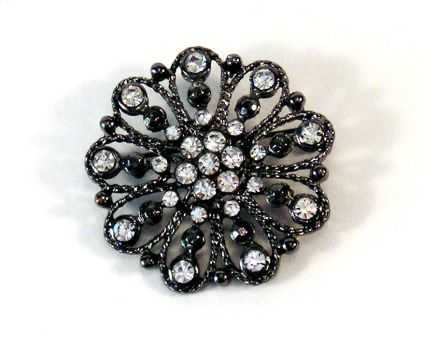 BASIC TERMS, Jeweled Brooch by mmp-stock