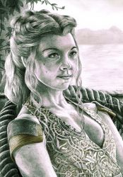 Game of Thrones - Margaery Tyrell by HomolaGabor
