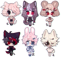 { kemonomimi adopt batch | closed } by panowie-pedauowie
