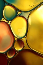 Oil and Water Abstract II by SJohnstone