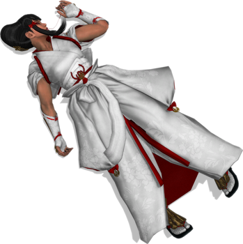 Kazumi Mishima Defeated 4 by FallenParty