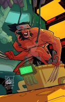 Wolverine by BOTAGAINSTHUMANITY