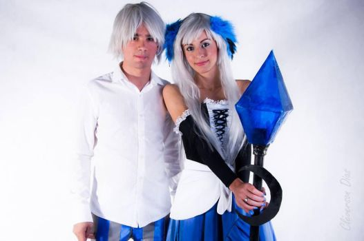 Cosplay Gwendolyn e Oswald - Odin Sphere(PS2) by MissThayss