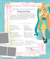 Empress Jade Ever After High OC by Sakuyamon