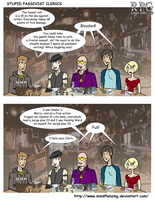 RPG Stupid Passivist Clerics by mindflenzing
