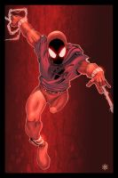 Scarlet spider by atombasher