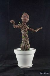 [Garage kit painting #14] Baby Groot statue - 008 by DasArt