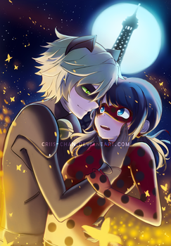 Chat Noir x Ladybug by criis-chan