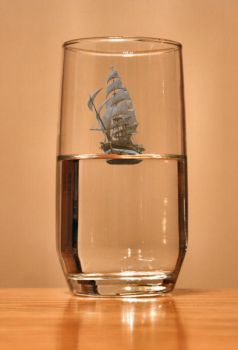 Ship In a Glass by WolfAlchemyst
