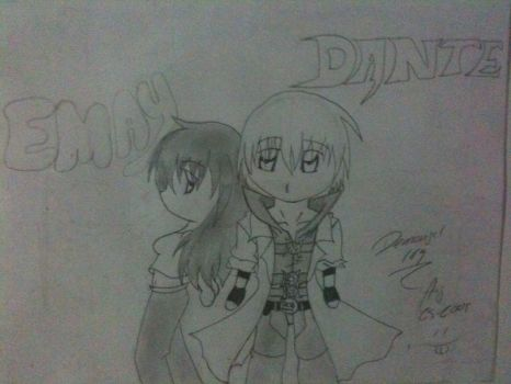 EMAY and DANTE by demongal109