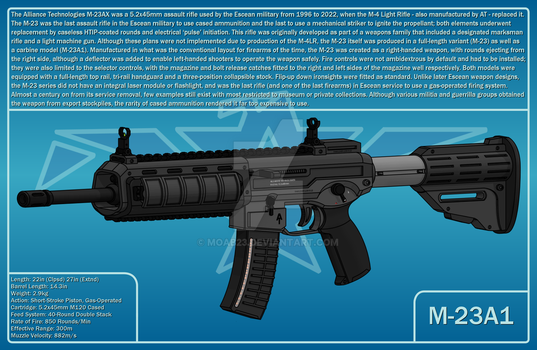 M-23A1 by MOAB23