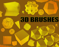 3D BRUSHES 01 by corruptedwear