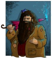 Hagrid by WhiteElzora