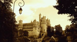 Pierrefonds Castle/Camelot - September 2012 by MorgainePendragon