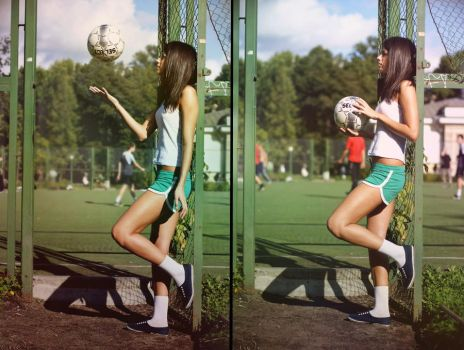 footballer by 666Honey