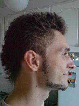 new hairstyle, har har har by bagienny