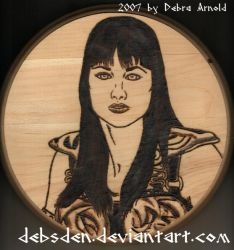 Xena Portrait by Xena-Fan-Club