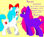 HeartBeat and Blueberry Blossom by Insane-Lioness