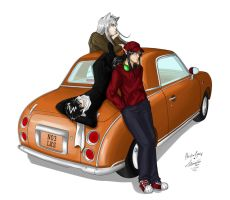 The Classic Car by kurisutin
