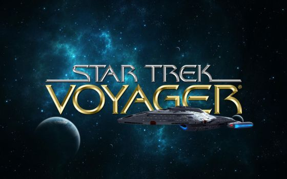 Star Trek: Voyager - Wallpaper 2 by PlaysWithWolves