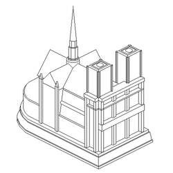 Notre Dame - in Progress by moyicat