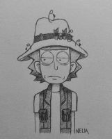 Fly Fishing Rick~ Sketch by small-yeast-dumpling