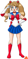 Serena As Sailor Moon by PerryWhite