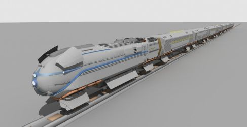 Maglev Freight Train Concept by LUCASANDRADES500