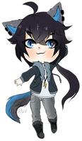 Chibi Rocky by Teal0wl