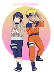 Naruto and Hinata by Dzyrama