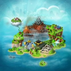 Super Mario Rpg World Map by ihateyouare