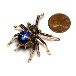 Smallest Steampunk Spider by CatherinetteRings