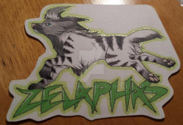 Zelaphas Name Badge by Nyxsiern