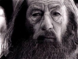 Gandalf by Chrisbakerart
