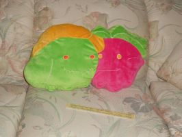 Commish-Hoppip Skiploom Pillow