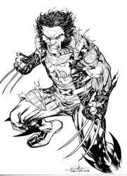 Wolverine - Bruxelles Comicon March20th2016 by SpiderGuile