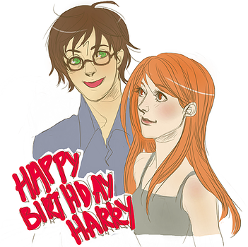 HP: Happy Birthday Harry by andreanna