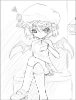 Date with Remilia by shaen-tj