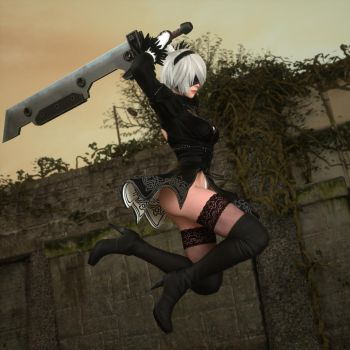 2B - Death From Above - 1 by LethalCandy