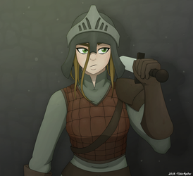 Jane (Colored Concept Art) by Fl00rMaster