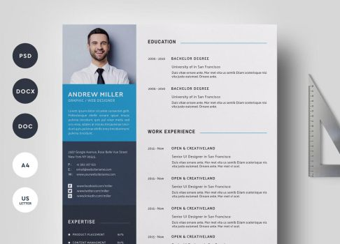 04 Pages Resume word by khaledzz9