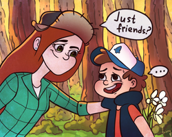 just friends? by frirro