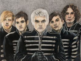 My Chemical Romance - The Black Parade by ArtsyKD13